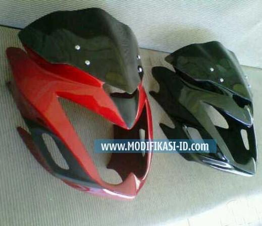 Cover Headlamp Verza merah