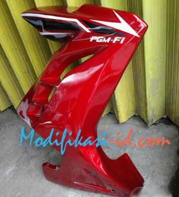 half fairing verza model ninja fi merah