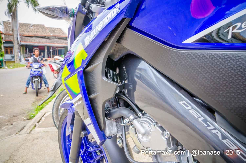 fairing yamaha new vixion advance 2015 special edition movistar motogp 2015