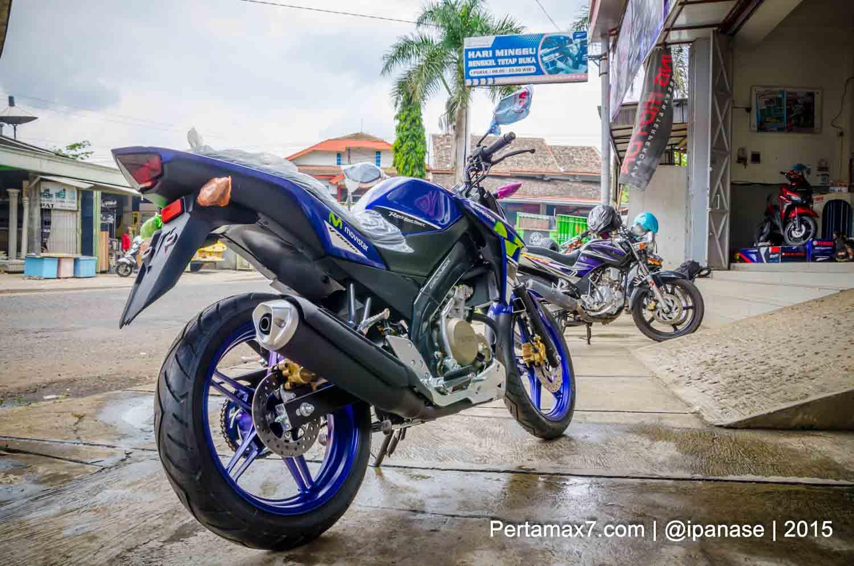 Yamaha New Vixion Advance 2015 belakang