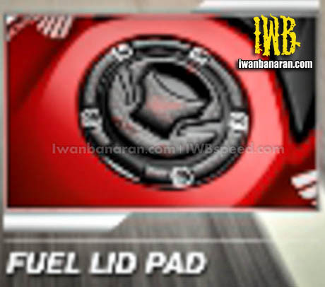 Aksesories Honda New CB150R fuel lid pad