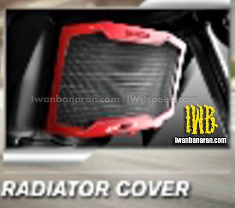Aksesories Honda New CB150R radiator cover