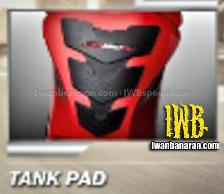 Aksesories Honda New CB150R tank pad
