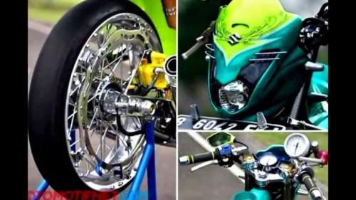 Motor suzuki satria fu 150cc modifikasi 2014