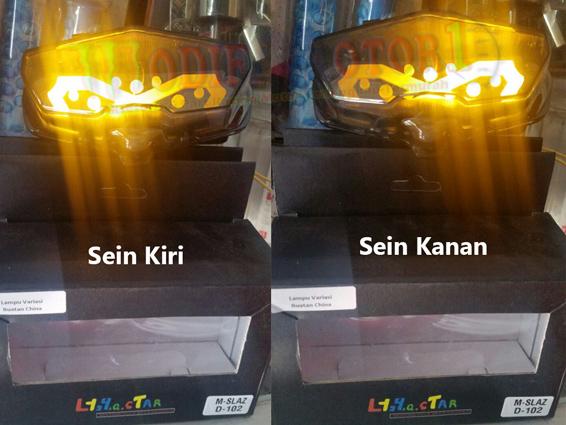 Stoplamp LED Yamaha Xabre plus Sein